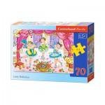Puzzle  Castorland-B-007059 Kleine Ballerinas