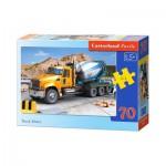 Puzzle  Castorland-B-007110 Betonmischer