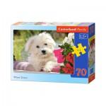 Puzzle  Castorland-B-007165 Weißer Terrier