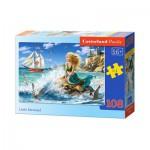 Puzzle  Castorland-B-010103 Die kleine Meerjungfrau