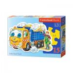 Puzzle  Castorland-B-015061 Lastwagen