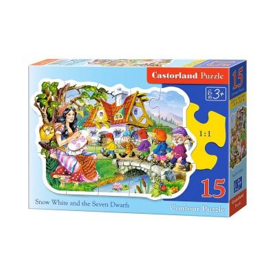 Puzzle Castorland-B-015085 Schneewittchen und die sieben Zwerge