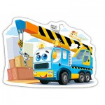 Puzzle  Castorland-B-015108 Lustiger Laster