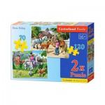 Puzzle  Castorland-B-021062 Reiten