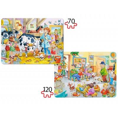Puzzle Castorland-B-021154 Tierärzte