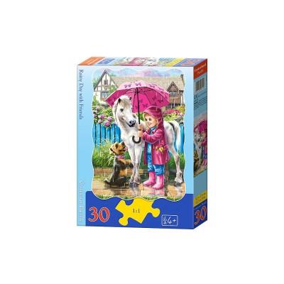 Puzzle Castorland-B-03426 Regentag