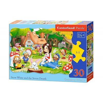 Puzzle Castorland-B-03495 Schneewittchen und die Sieben Zwerge