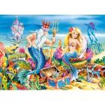 Puzzle  Castorland-B-035052 Die kleine Meerjungfrau