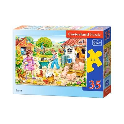 Puzzle Castorland-B-035076 Auf dem Bauernhof