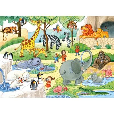 Puzzle Castorland-B-035083 Im Zoo