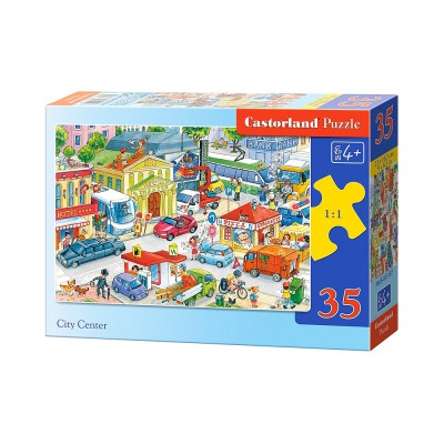 Puzzle Castorland-B-035137 Innenstadt