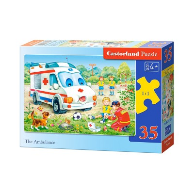 Puzzle Castorland-B-035151 Krankenwagen