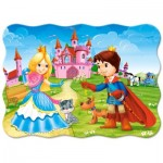 Puzzle  Castorland-B-03518 The Princess Couple