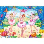 Castorland-B-035182 Minipuzzle - Kleine Ballerinas