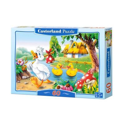 Puzzle Castorland-B-06533 Das hässliche Entlein