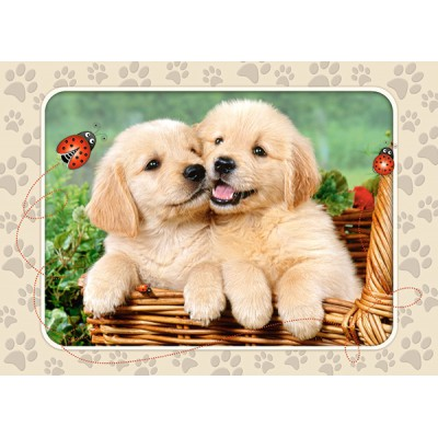 Puzzle Castorland-B-06786 Golden Retriever