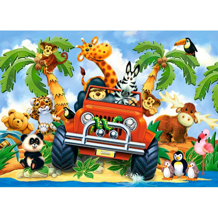 Stubenhocker auf Safari
