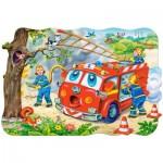 Castorland-C-02146 Maxi-Puzzle: Feuerwehrleute