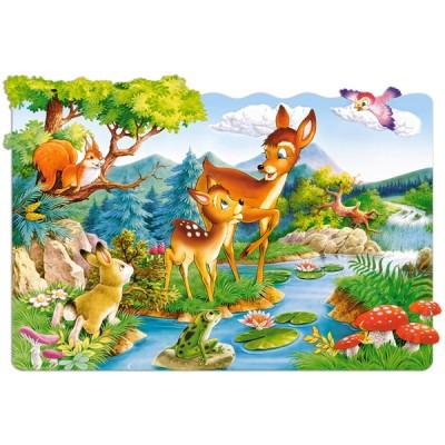 Castorland-C-02177 Puzzle 20 Teile Maxi: Rehkitz