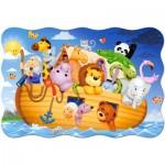 Castorland-C-02245 Extragroße Puzzleteile - Arche Noah