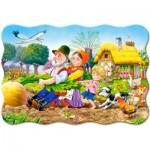 Castorland-C-02283 Minipuzzle - Die Rübe