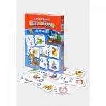 Puzzle  Castorland-E-043 Englisches Alphabet - zum lernen und amüsieren