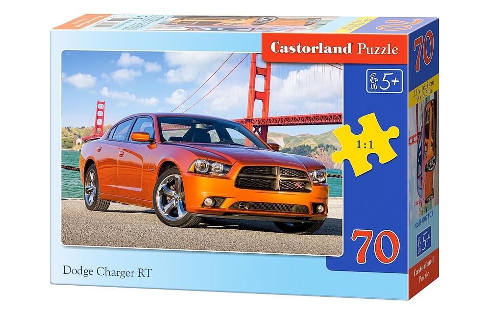 dodge charger rt 70 teile castorland puzzle online kaufen. Black Bedroom Furniture Sets. Home Design Ideas
