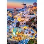 Puzzle   Santorini Lights