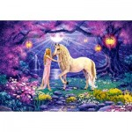 Puzzle   Unicorn Garden