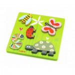 Puzzle  Djeco-DJ-01025 Holz Einbau - Kimi