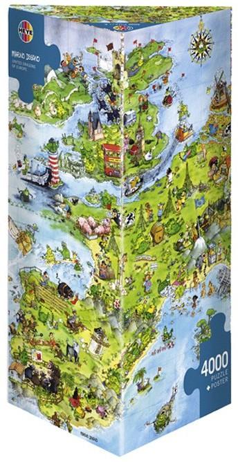 Puzzle Heye-08854 Vereinigte Drachen