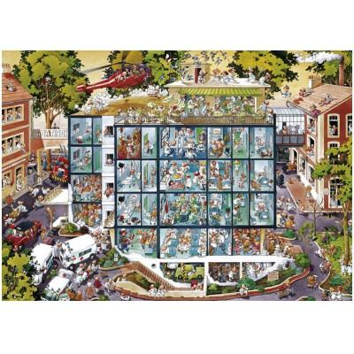 Puzzle Heye-25784 Unfallstation
