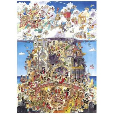 Puzzle Heye-29118 Himmel und Hölle