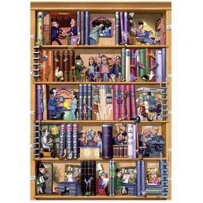 Puzzle Heye-29234 Bücher