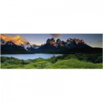Heye-29288 Puzzle 1000 Teile Panorama - Edition Humboldt: Cuernos del Paine