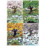 Puzzle  Heye-29340 Blachon: 4 Seasons