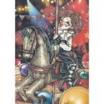Puzzle  Heye-29397 Viktoria Frances: Carousel