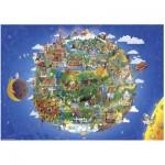 Puzzle  Heye-29521 Die Erde
