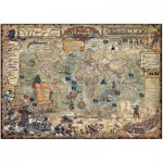 Puzzle  Heye-29526 Rajko Zigic: Pirate World