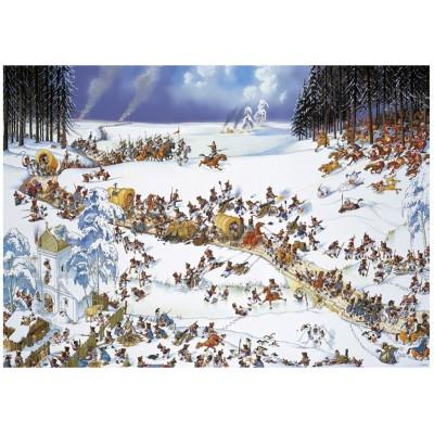 Puzzle Heye-29566 Napoleons Winter