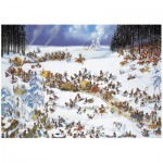 Puzzle  Heye-29566 Jean-Jaques Loup: Napoleons Winter
