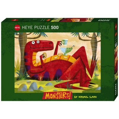 Puzzle Heye-29624 Monster Punch