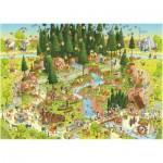 Puzzle  Heye-29638 Schwarzwald