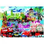 Puzzle  Heye-29682 Kitty McCall: I Love London!