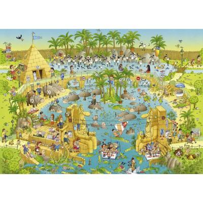 Puzzle Heye-29693 Marino Degano: Nile Habitat