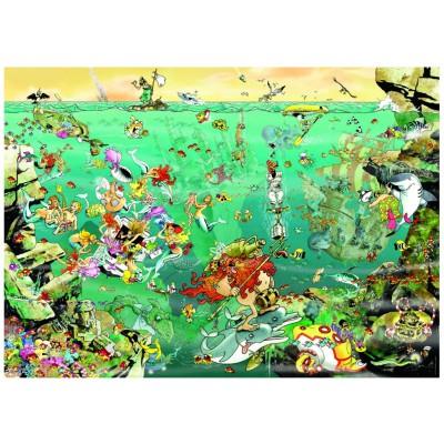 Puzzle Heye-29694 Giuseppe Calligaro: Under Water