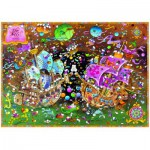 Puzzle  Heye-29699 Mordillo Guillermo: The Kiss