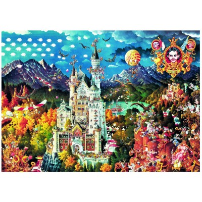 Puzzle Heye-29700 Ryba Michael: Bavaria