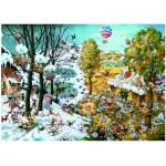 Puzzle  Heye-29704 Ryba Michael: Paradise