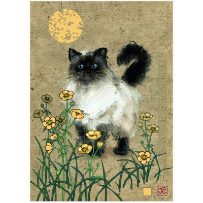 Puzzle Heye-29718 Jane Crowther: Meadow Cat